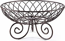 Fruit Bowl Fruit Basket Container Bowl Metal Wire