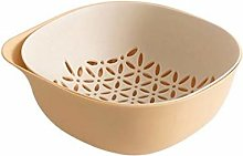 Fruit Bowl Fruit Basket Double Layer Drainer 2 In