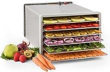 Fruit Jerky Steel 6 dehydrator 6 shelves 630 W