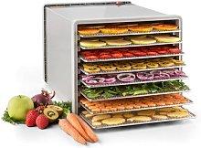 Fruit Jerky Steel 8 dehydrator 8 shelves 630 W