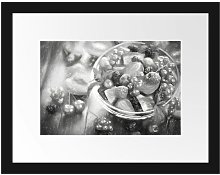 Fruit Salad in the Bowl Framed Photographic Art