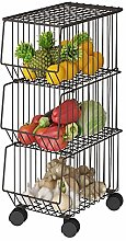 Fruit Vegetable Basket, Metal Wire Basket with