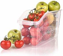 Fruit Vegetable Storage Basket Kitchen Shelf