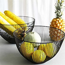 Fruit Wire Basket Iron Fruit Bowl Snack Plate