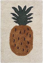 Fruiticana - Ananas Rug - / Small - Tissé main by