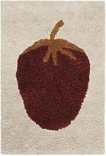 Fruiticana - Fraise Rug - / Large - Tissé main by