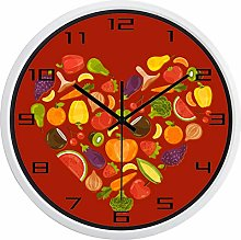 Fruits and Vegetables Fashion Kitchen Wall Clock