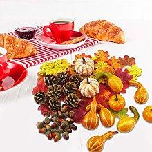 Fruits Decorative,Halloween Thanksgiving Realistic