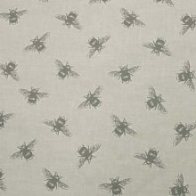 Fryetts Bees Lines PVC Fabric Wipe Clean