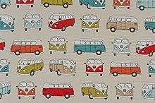 Fryetts Campervan PVC Fabric Wipe Clean Tablecloth