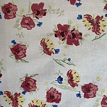 Fryetts Watercolour Pink PVC Fabric Wipe Clean
