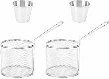 Frying Basket,4Pcs/Set Mini Frying Basket