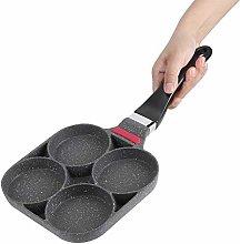 Frying Pan with 4 Dimples, Pancake Pan Fried Egg