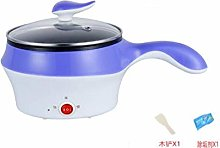 Frying pan with lid,Mini Student Electric Cooker,