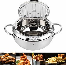 Frying Pot, Stainless Steel Frying Pot Japanese
