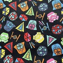 FS598_2 Star Wars Icons Cotton Fabric Design Craft