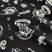 FS635_16 Harry Potter Hogwarts Cotton Fabric