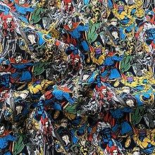 FS641_3 Marvel Comics Villain Cotton Fabric Design