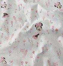 FS654_1 Minnie Mouse Disney Cotton Fabric Design