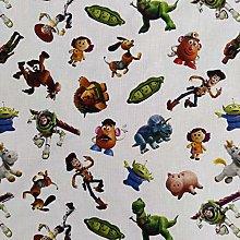 FS764_2 Disney Toy Story Cotton Fabric Design