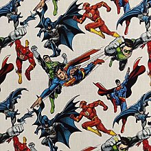 FS895_2 Avengers Superheros Cotton Fabric Design