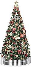FSADGNO Artificial Christmas Tree Green Christmas