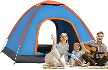 FSfhgEy Camping Tent Beach For 3-4 Person Foldable