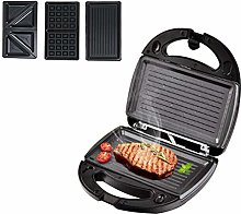 FSGD Waffle Maker 3 in 1, Sandwich Toaster, Press