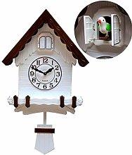 FSHB Cuckoo clock Vintage Wall Clocks Home Decor