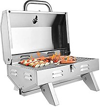 FSJD Stainless Stee Gas Barbecue BBQ Grill Single