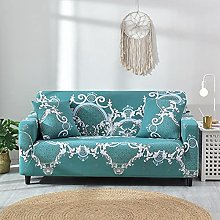 Fsogasilttlv Stretch Sofa Covers 2 seater,Geometry