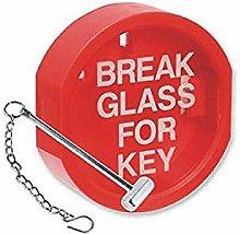FSSS Ltd BREAK GLASS KEY BOX HAMMER & CHAIN COVER