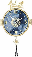 FSYGZJ Vintage Pendulum Clock for Living
