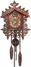 FSYGZJ Wall Art Decorative Hanging Clock Large