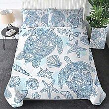 FTBDWOSS® Bedding Duvet Cover Set 135X200 Cm Gray