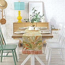 FTTH&YAG American Style Cotton And Linen Table