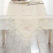 FTTH&YAG Rectangular Tablecloth Flag, Lace Fabric,