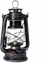 FTVOGUE 24cm Vintage Coal Oil Lamp Kerosene