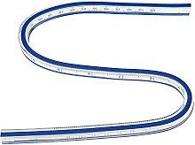 FTVOGUE Flexible Curve Ruler Measurement Tool for