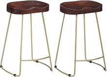 Fu Bar Stool Union Rustic