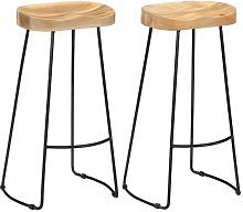 Fuchs Bar Stool Union Rustic