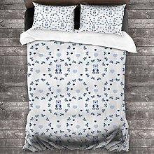fudin Duvet cover bedding Set,Kids Baby Nursery