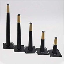 Fueniture Legs 4 Pieces of Black Furniture Legs,