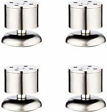 Fueniture Legs 4pcs Adjustable Stainless Steel
