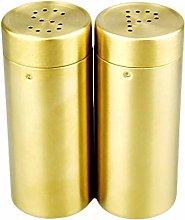 Fugift Salt and Pepper Shakers Spice Dispenser