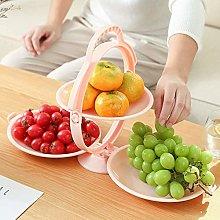 fuguzhu 3 Tier Fruit Basket, foldable