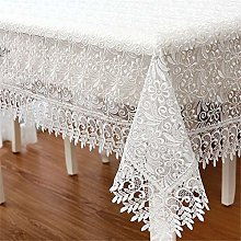 FuHouse 100x150cm Lace Table Cover Cloth with