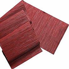 FuHouse 30x225cm PVC Table Runner Heat-Resistant