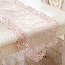 FuHouse 40x180cm Floral Table Runner Cover Cloth