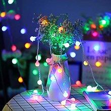 Fulighture Globe String Lights, 16ft 40LEDs Ball